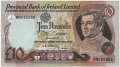 Provincial Bank Of Ireland Ltd 10 Pounds,  1. 1.1981