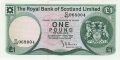Royal Bank Of Scotland Ltd 1969 To 1981 1 Pound, Various dates and prefixes