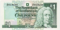 Royal Bank Of Scotland Plc 1 And 5 Pounds 1 Pound, 13.12.1988