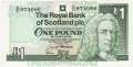 Royal Bank Of Scotland Plc 1 And 5 Pounds 1 Pound, 23. 3.1994