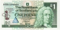 Royal Bank Of Scotland Plc 1 And 5 Pounds 1 Pound,  3. 3.1997