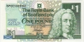 Royal Bank Of Scotland Plc 1 And 5 Pounds 1 Pound, 12. 5.1999