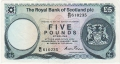 Royal Bank Of Scotland Plc 1 And 5 Pounds 5 Pounds,  3. 1.1985