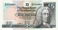Royal Bank Of Scotland Plc 1 And 5 Pounds 5 Pounds, 21.11.2008