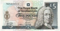 Royal Bank Of Scotland Plc 1 And 5 Pounds 5 Pounds, 14. 5.2004