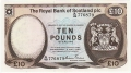 Royal Bank Of Scotland Plc Higher Values 10 Pounds,  3. 5.1982