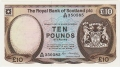 Royal Bank Of Scotland Plc Higher Values 10 Pounds, 17.12.1986