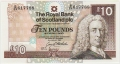 Royal Bank Of Scotland Plc Higher Values 10 Pounds, 28. 1.1992