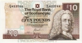 Royal Bank Of Scotland Plc Higher Values 10 Pounds, 27. 6.2000