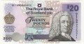Royal Bank Of Scotland Plc Higher Values 20 Pounds, 04.08.2000