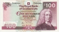 Royal Bank Of Scotland Plc Higher Values 100 Pounds, 25. 3.1987