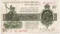 Treasury 10 Shillings, from 1919