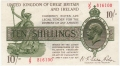 Treasury 10 Shillings, from 1922