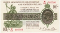 Treasury 10 Shillings, from 1927