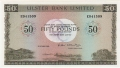 Ulster Bank Ltd 50 Pounds,  1.10.1982