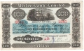 Ulster Bank Ltd 100 Pounds,  1. 1.1943