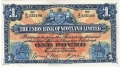 Union Bank Of Scotland Ltd 1 Pound, 12. 2.1937