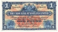 Union Bank Of Scotland Ltd 1 Pound,  1. 6.1948