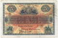 Union Bank Of Scotland Ltd 5 Pounds,  3.10.1931
