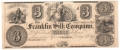 USA Colonial And Broken Banks 3 Dollars, 18 - -