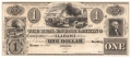 USA Colonial And Broken Banks 1 Dollar, 18 - -