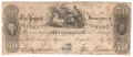 USA Colonial And Broken Banks 50 Dollars, 27. 1.1837