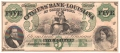 USA Colonial And Broken Banks The Citizens' Bank of Louisiana, Shreveport Branch, 5 Dollars, 18 - -