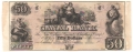USA Colonial And Broken Banks Canal Bank, 50 Dollars, 18 - -