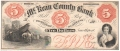 USA Colonial And Broken Banks The McKean County Bank, Smethport, 5 Dollars, 185 -