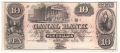 USA Colonial And Broken Banks Canal Bank, 10 Dollars, 18 - -