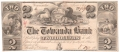 USA Colonial And Broken Banks The Towanda Bank  2 Dollars,  1. 6.1841