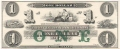 USA Colonial And Broken Banks The New England Commercial Bank, 1 Dollar, 18 - -
