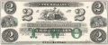 USA Colonial And Broken Banks The New England Commercial Bank, 2 Dollars, 18 - -