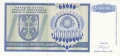 Bosnia-Herzegovina 10 million Dinara, 1993
