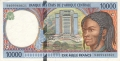 CentralAfricanStates 10,000 Francs, 1994