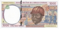 CentralAfricanStates 5000 Francs, 2000