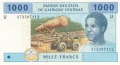 CentralAfricanStates 1000 Francs, 2002-