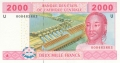 CentralAfricanStates 2000 Francs, 2002-