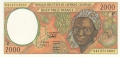 CentralAfricanStates 2000 Francs, 1997