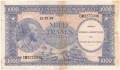Congo Democratic Republic 1000 Francs, 15. 2.1962