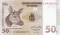 Congo Democratic Republic 50 Centimes,  1.11.1997