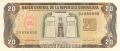 Dominican Republic 20 Pesos, 1990