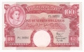 East Africa 100 Shillings, (1958-60)