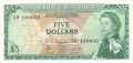East Caribbean 5 Dollars, (1965-)