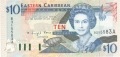 East Caribbean 10 Dollars, (1994)