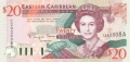 East Caribbean 20 Dollars, (1994)
