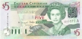 East Caribbean 5 Dollars, (2003)