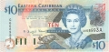 East Caribbean 10 Dollars, (2003)