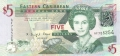 East Caribbean 5 Dollars, (2008)