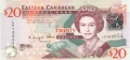 East Caribbean 20 Dollars, (2008)